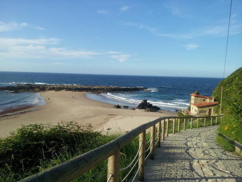Pechón Beach 12 kms.