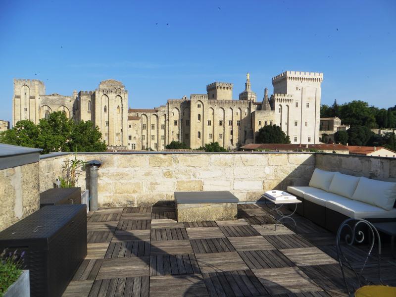 Intra-muros / terrasse vue unique, vacation rental in Avignon