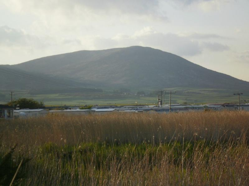 Southerness cottage rental - View of Criffel