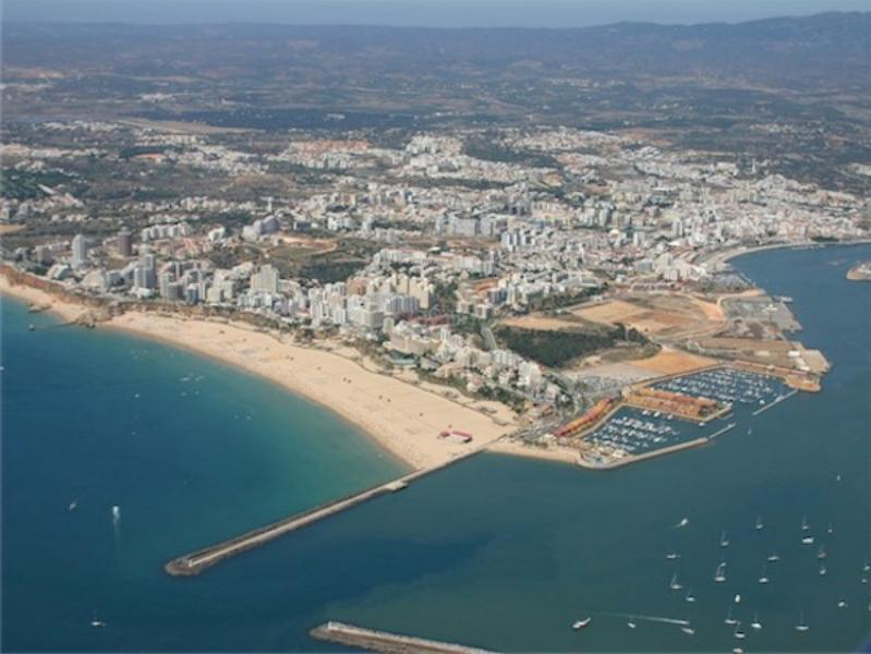 Praia da Rocha - Aerial Picture