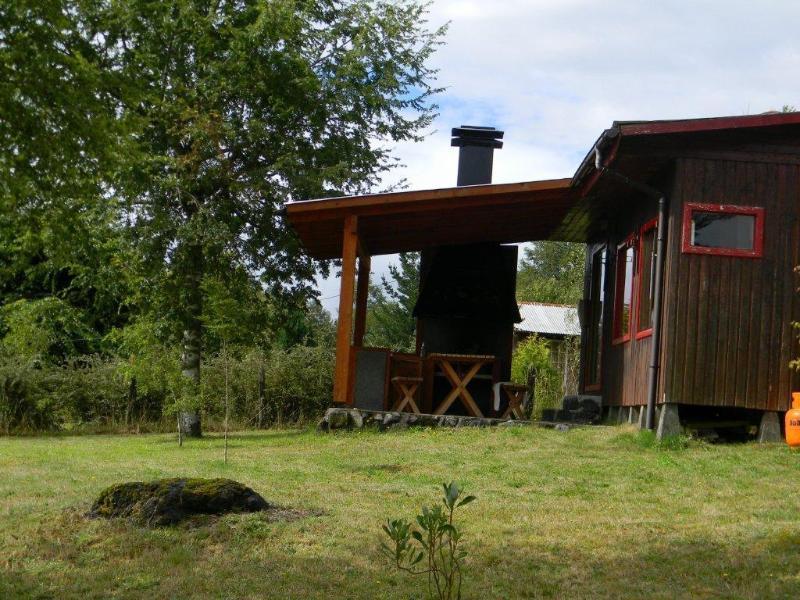 Vista del Quincho View of barbecue