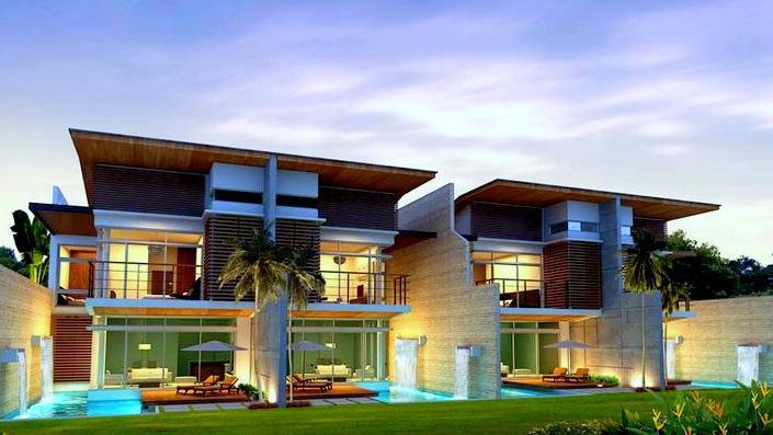 Kamala 35 A-D nice pool villas