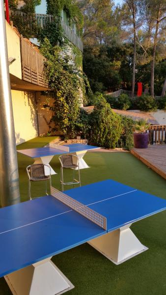 Table Tennis Tables Holiday Green