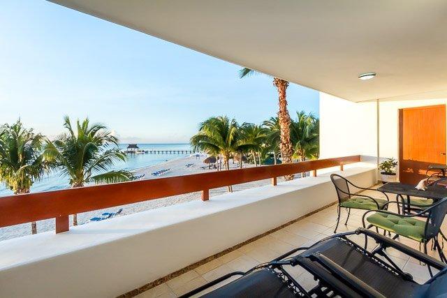 Vista de Paraiso (5200)—Beachfront, Amazing Ocean Views, Two P, vacation rental in Cozumel