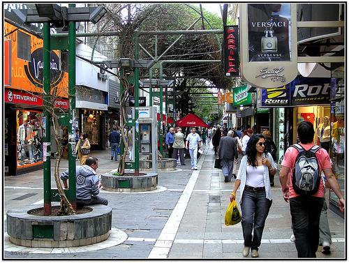 Pedestrian, 10 blocks