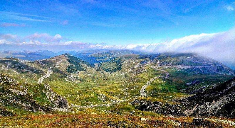 As featured on Top Gear the greatest road in the world - The Transalpina just a few miles away