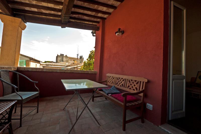 BenedettaFumiCambiGado(La loggia di Palazzo Fumi, location de vacances à Orvieto