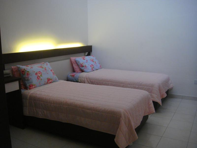 two singles bed