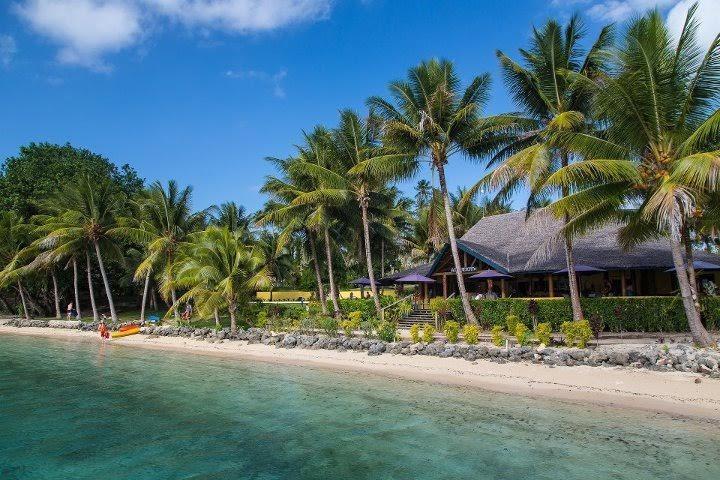Este encantador lugar Aore Island Resort está a 5 minutos a pie forman nuestro. El restaurante es muy bueno!