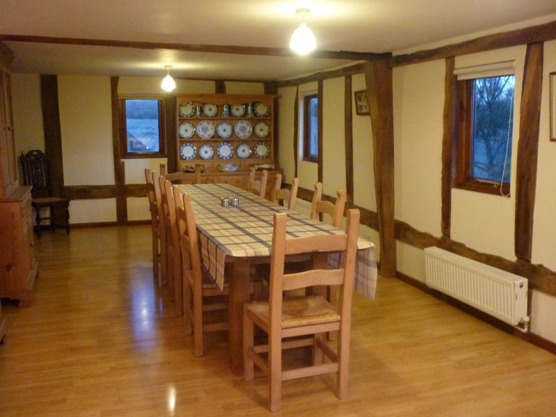 Mooncroft - dining area
