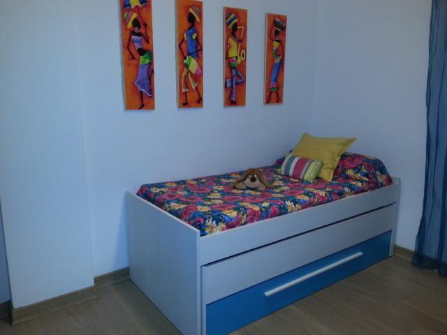 Dormitorio 2 camas individuales (cama nido)