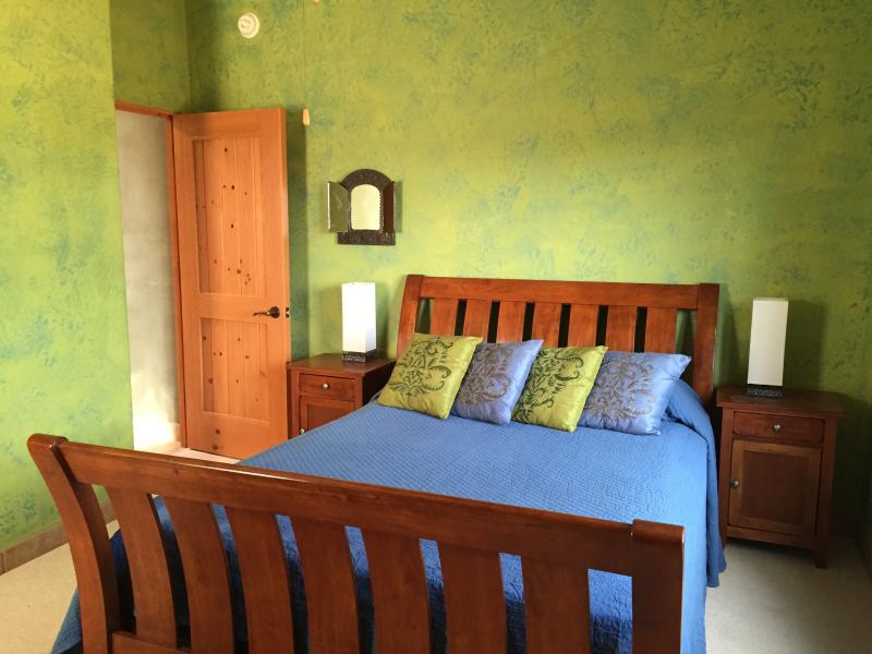 One of the guest bedrooms