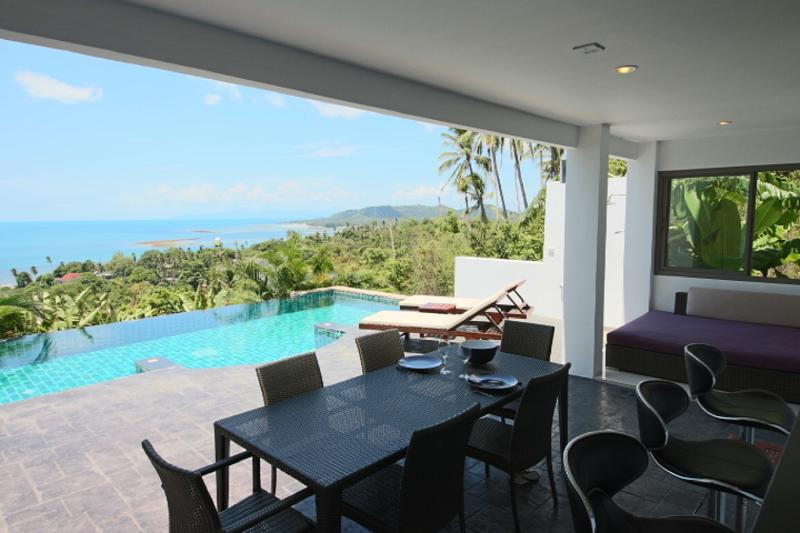 Triplex with private pool, vacation rental in Lamai Beach