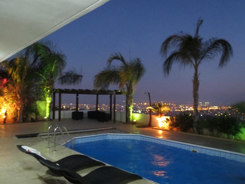 Private pool (not shared with others) with panoramic views of Limassol.