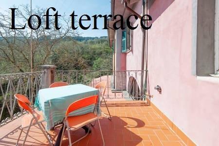 Loft Tuscan farmhouse, vacation rental in Giucano