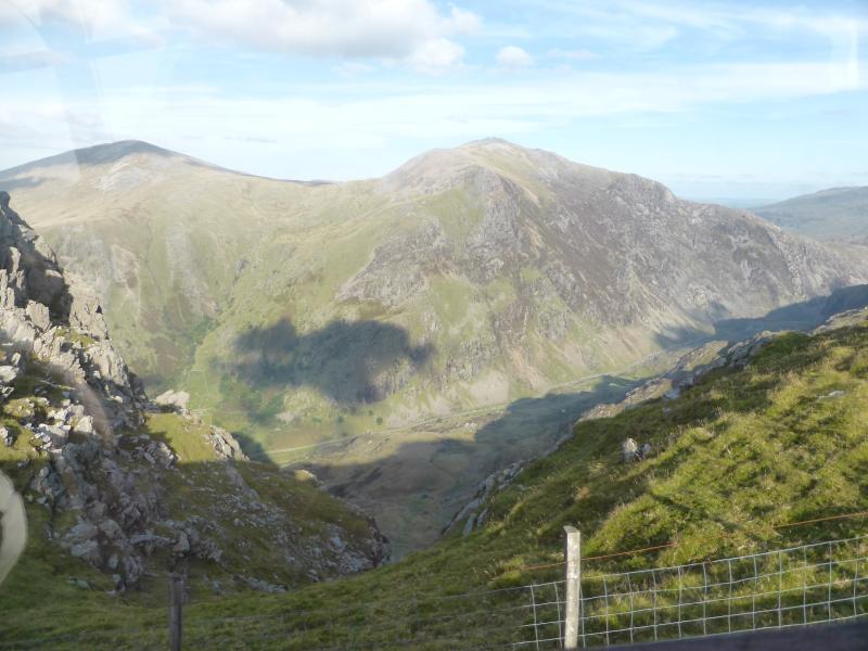 Views up Snowdon