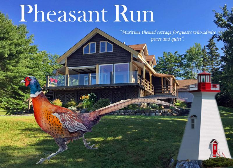 Welcome to Pheasant Run - our lovely retreat on the South Shore