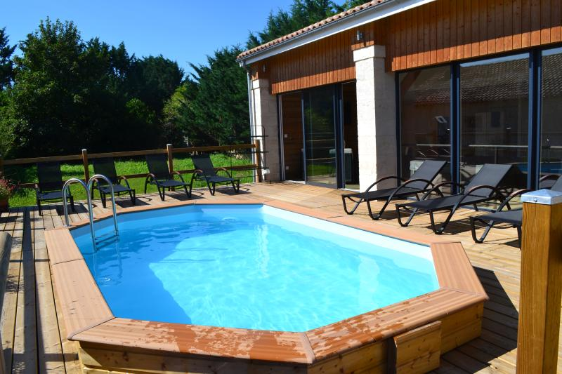 Swimming pool on terrace