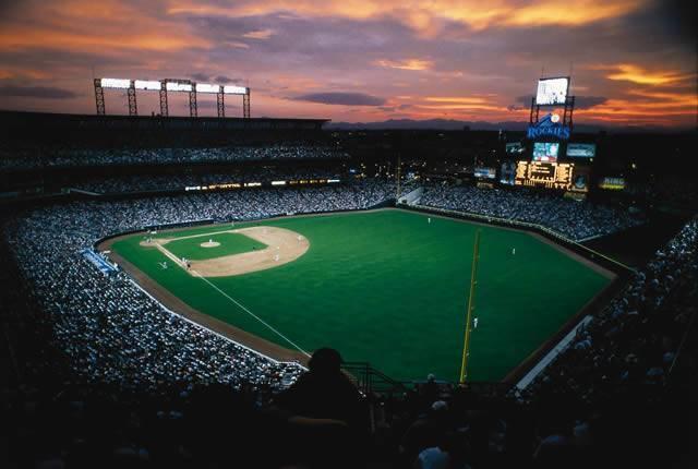Coors Field-Colorado Rockies Baseball
