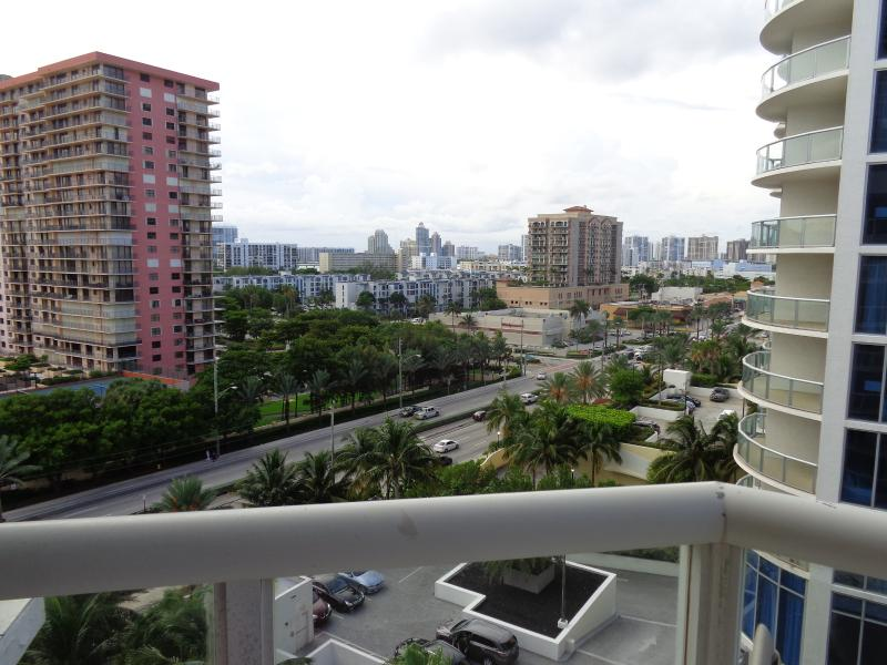 Collins Ave view from balcony