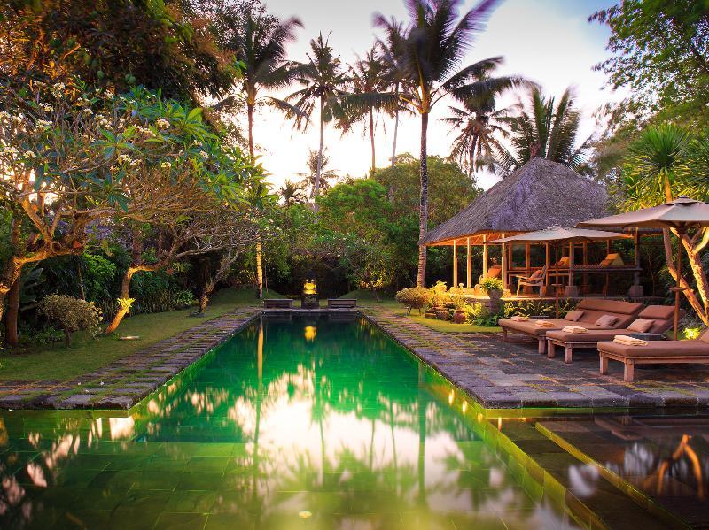 Villa Belong Dua - Pool lights