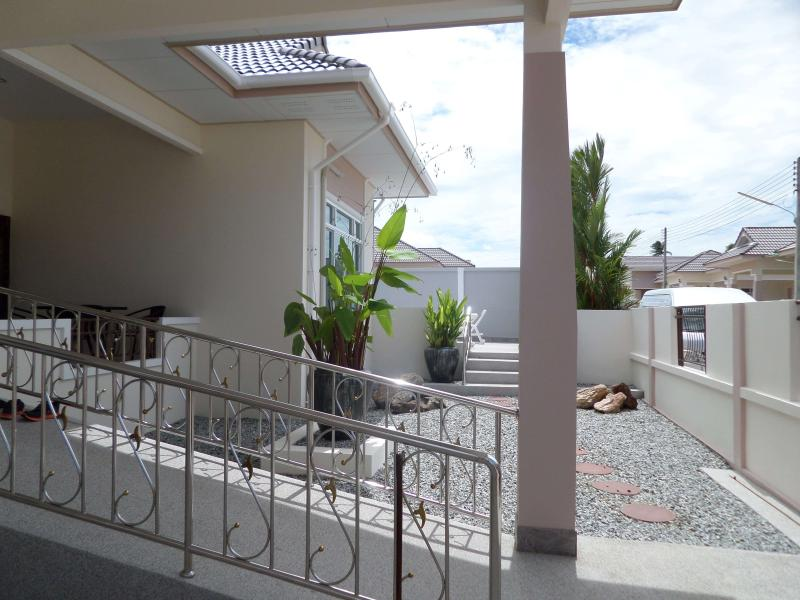 ramp access on entrance of house for wheelchair access