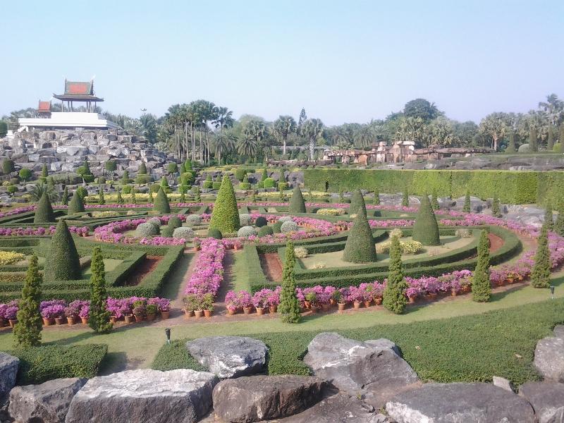 world famous nong nooch gardens