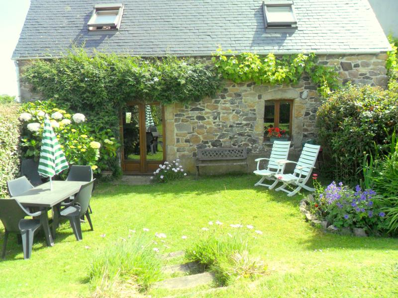 The cottage has a sunny enclosed and private garden