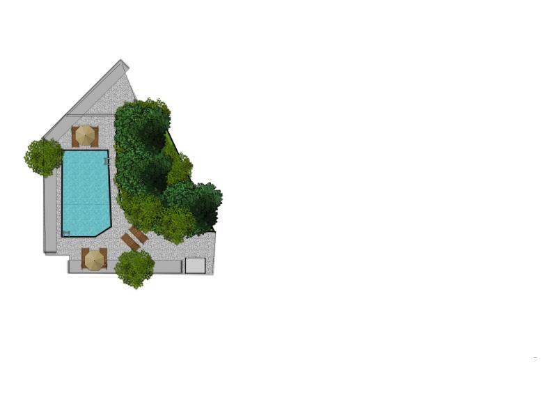 Floorplan swimming pool
