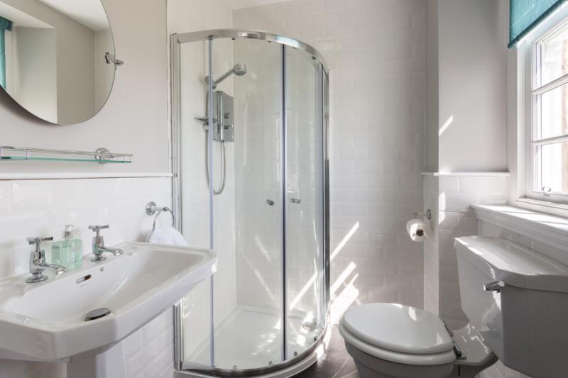 One of the en-suite shower rooms