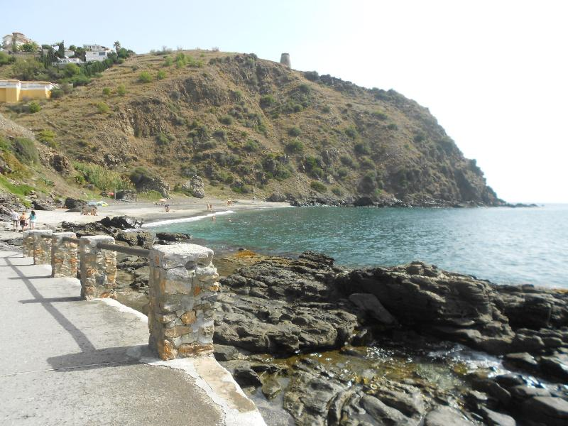 One of many nearby coves