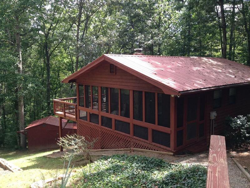 Hillside Cottage, holiday rental in Blairsville