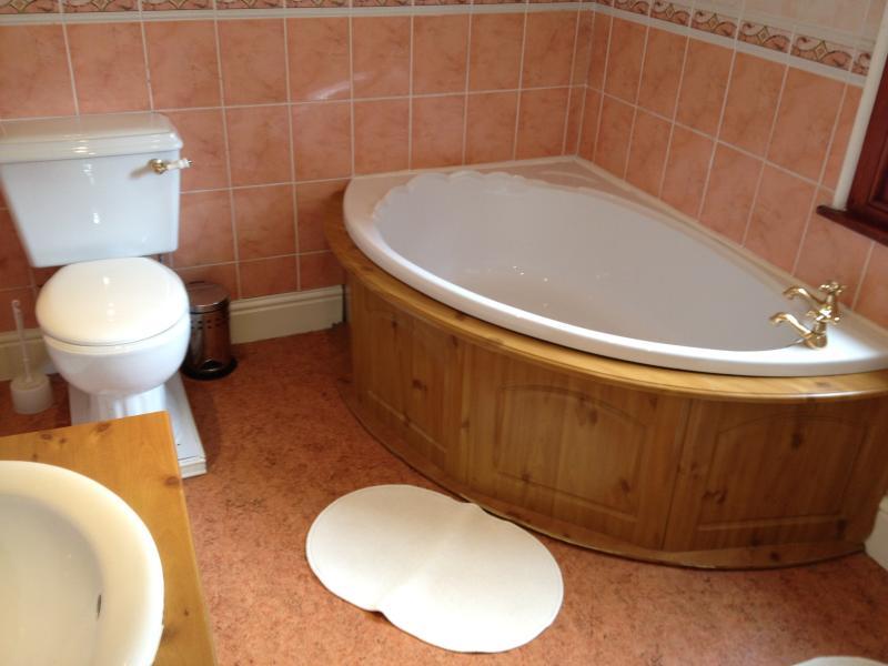 Family Bathroom with Corner bath and shower cubicle