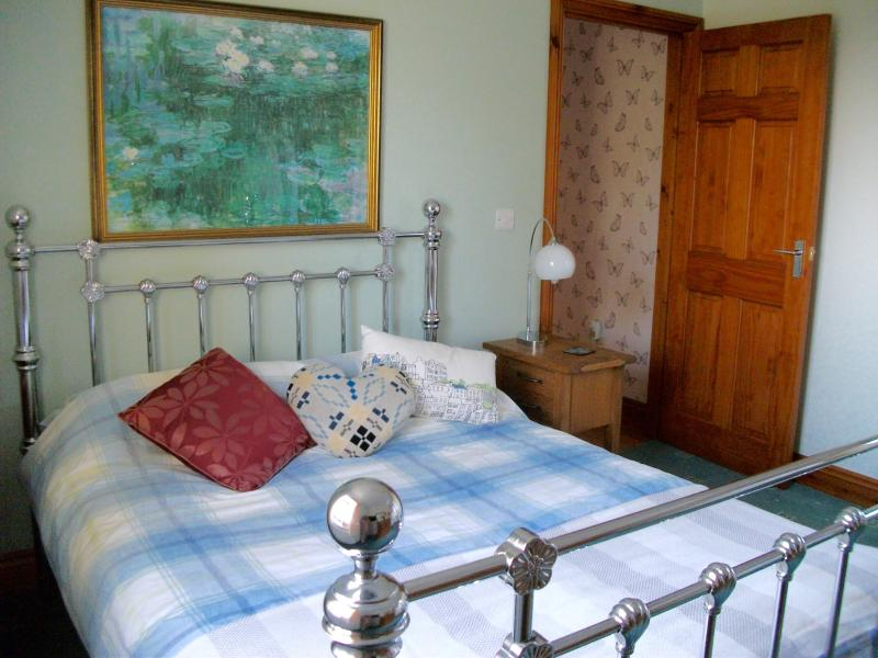 master bedroom with double bed photograph taken in October 2015