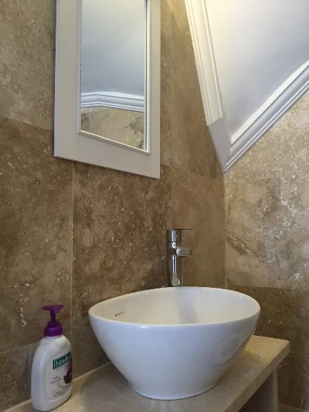 One of the bathroom with High quality of the Marble Work