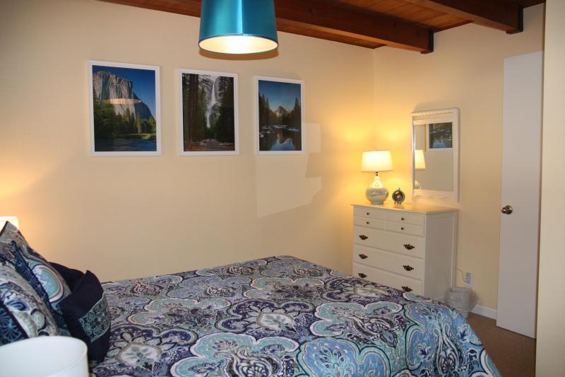 another view of Queen bedroom, main level