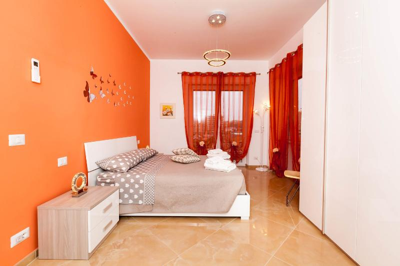 The Orange Double Bedroom