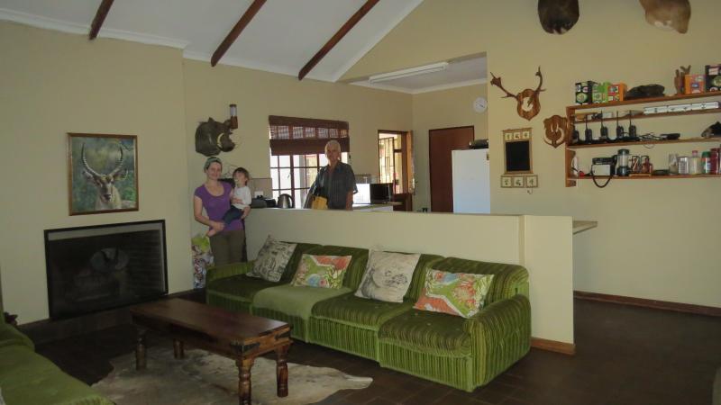 Salón y cocina