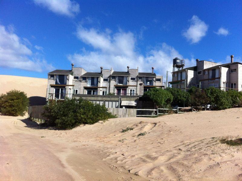 L Amistad Cottages View From the dunes and sea