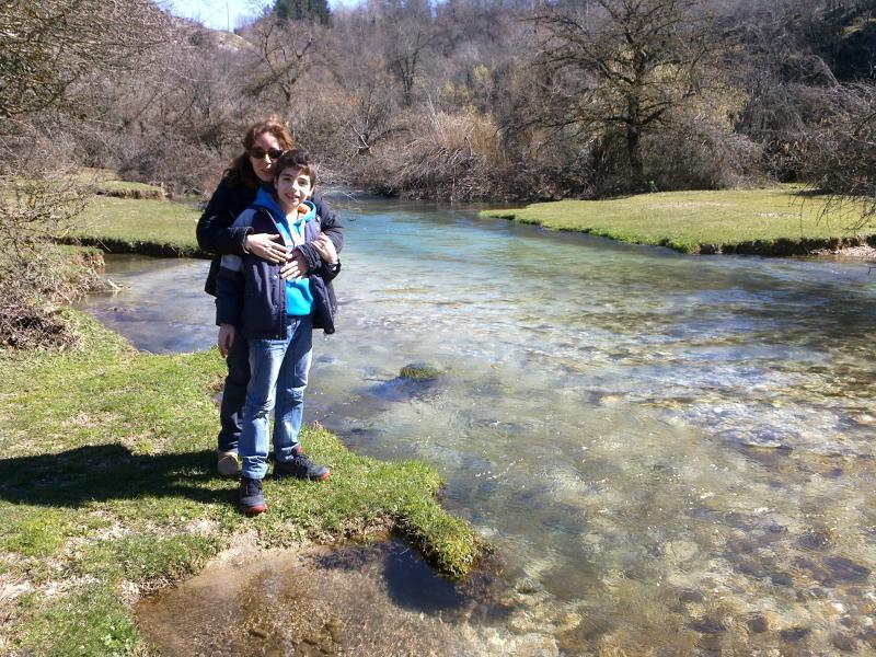 fiume Aniene a 15 minuti dalla casa