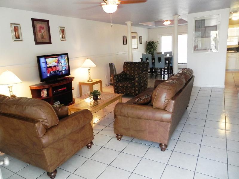 Open space living room!