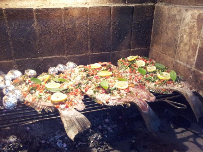La Amistad Cottages La Barbacoa Lounge Barbecue