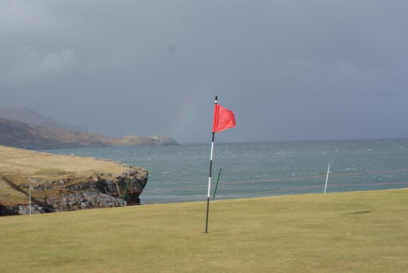 Golf course at Durness