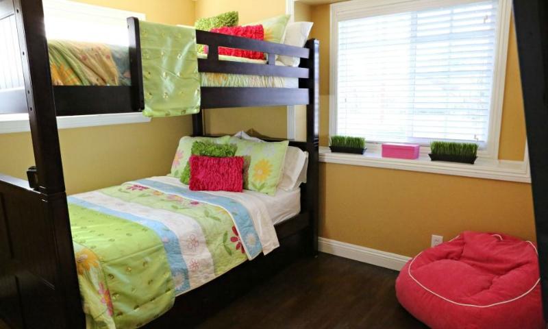 Bedroom #5 Full over Full Bunkbeds