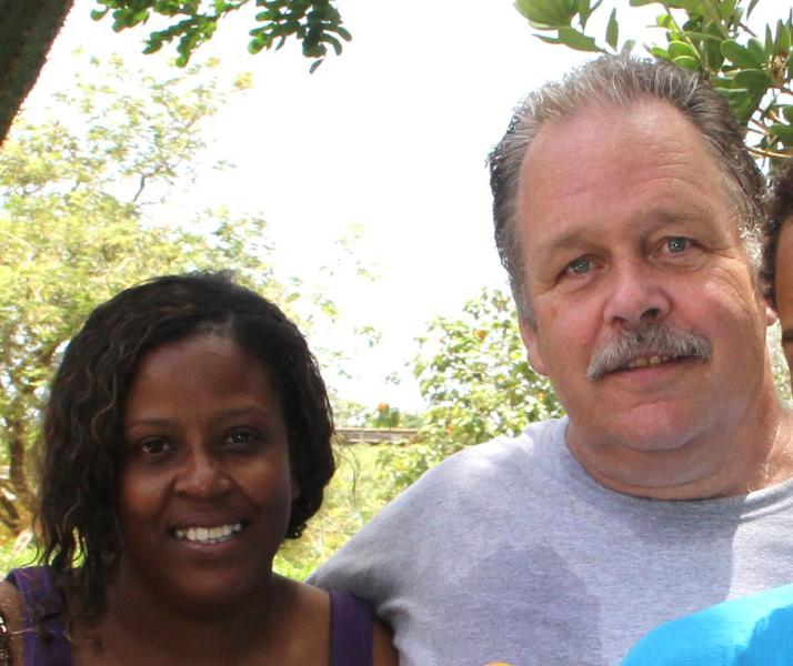 the owners: Dionicia and Reinier