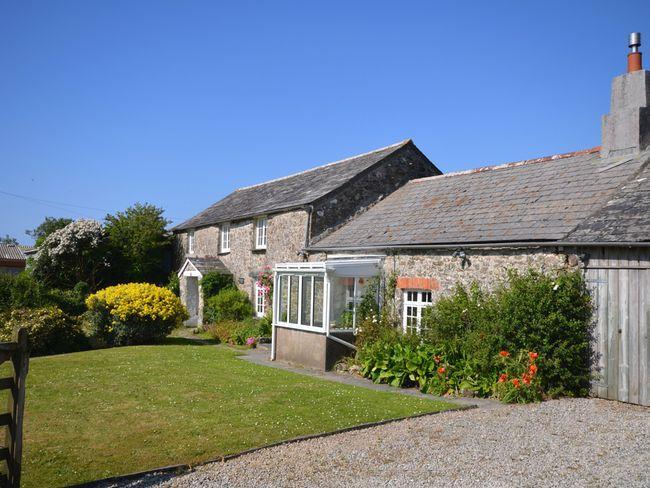 Traditional Cornish cottage