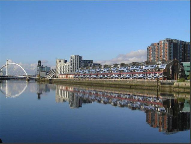 River View Luxury Duplex Penthouse, Glasgow City, Hydro SECC, Armadillo BBC, STV, vakantiewoning in Glasgow