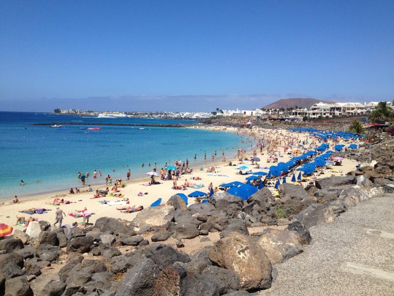Playa dorado Beach 20 minutes walk from the villa