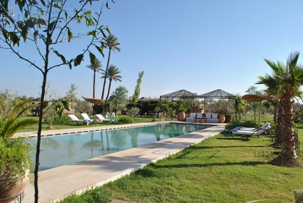Holiday villa Marrakesh with large private pool