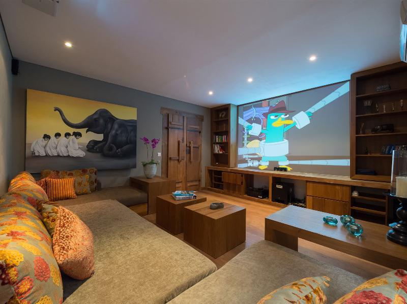 Villa Shambala - Salle de presse